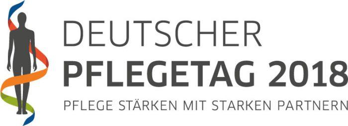 Logo des Deutschen Pflegetags 2018