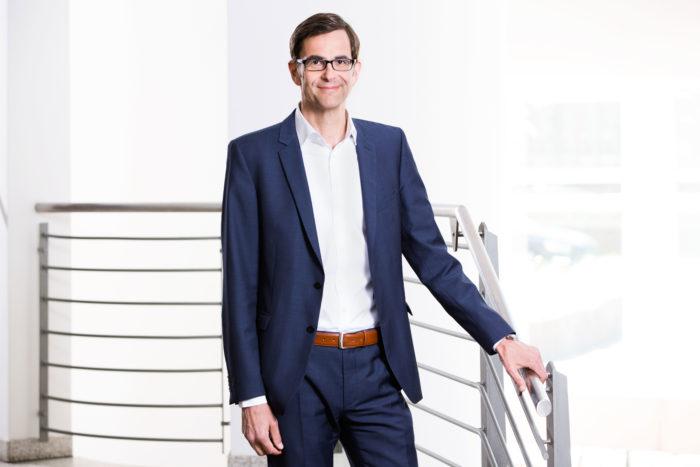 Lutz Bandte ist Geschäftsführer bei der Schlüterschen.