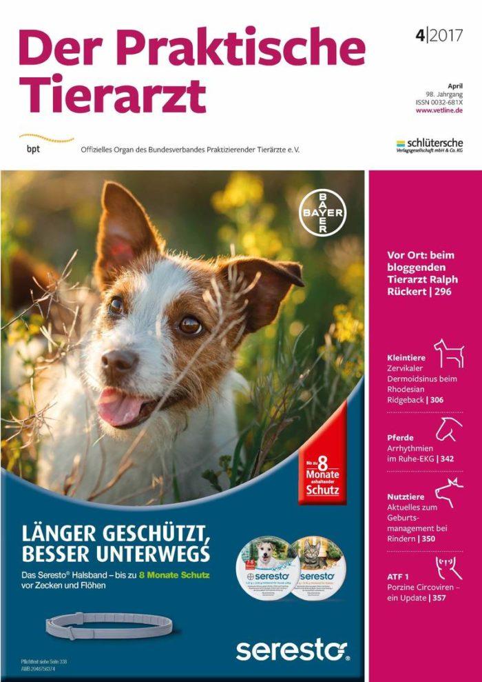 Zeitschrift Der Praktische Tierarzt von der Schlüterschen