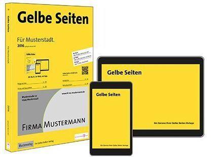 Die Produkte der Gelben Seiten