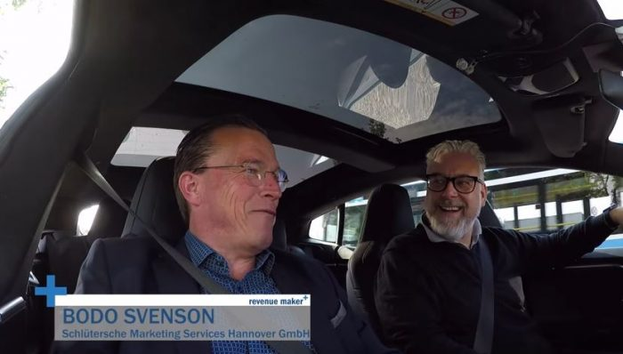 Bodo Svenson im Interview bei revenue maker