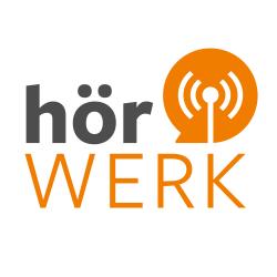 Das Logo des neuen Podcasts HÖRwerk