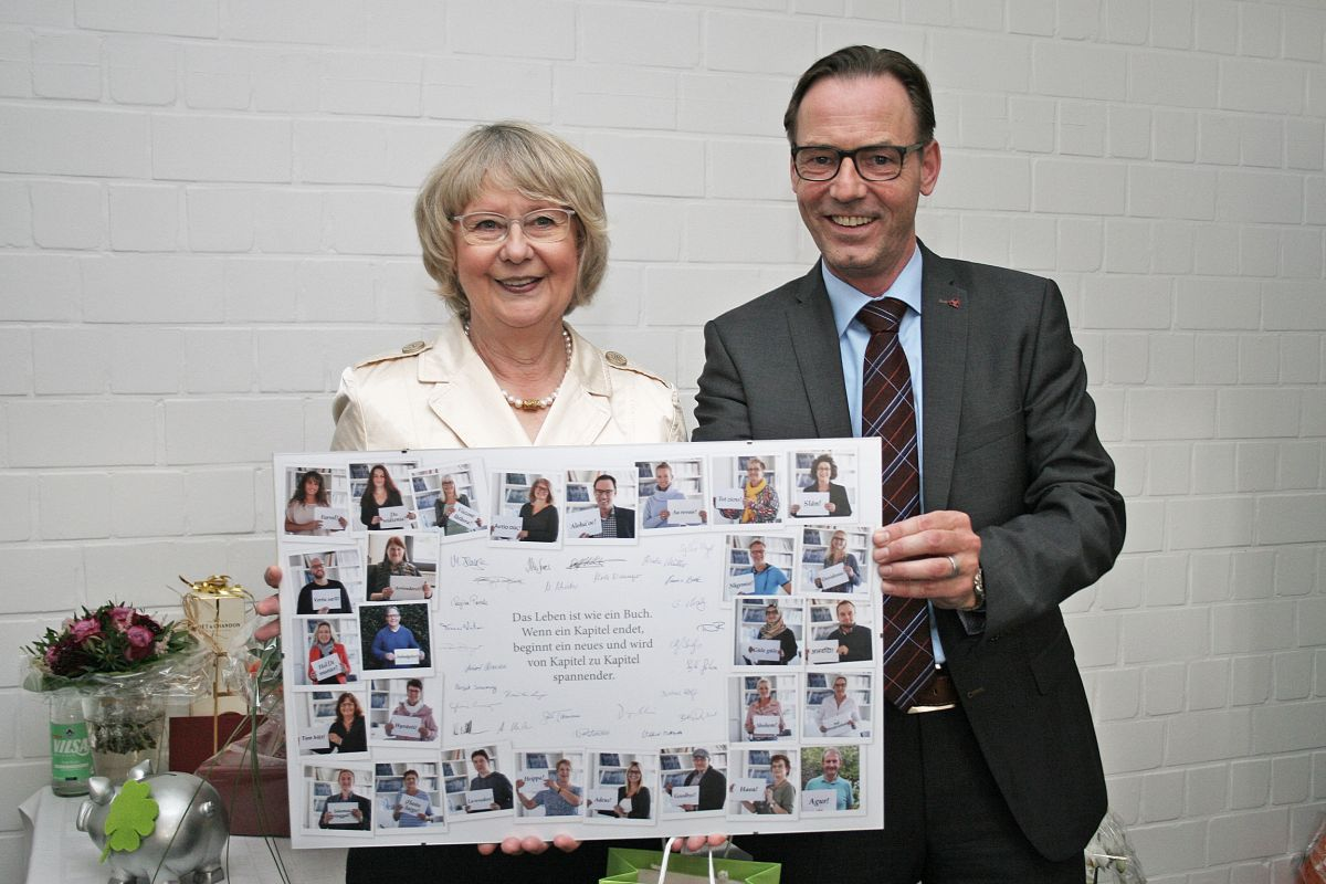 Dr. Christa Hülsebus-Wagner übergibt die Geschäftsführung an Ralf Niemeyer