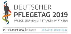 Das Logo des Deutschen Pflegetags 2019