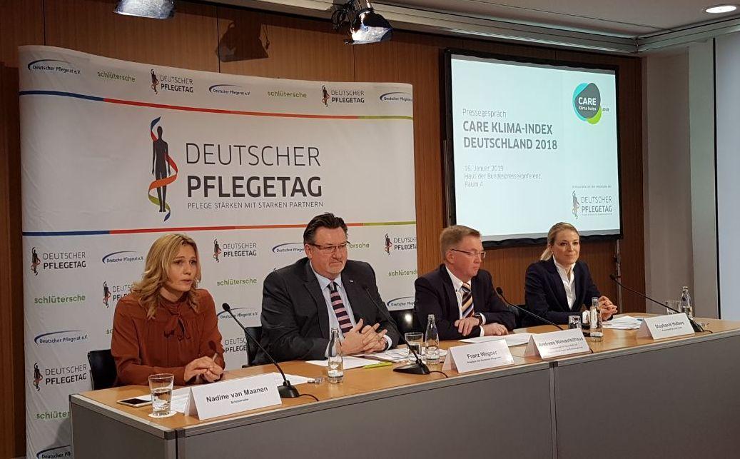 Pressekonferenz zu den Ergebnissen des CARE Klima-Index 2018
