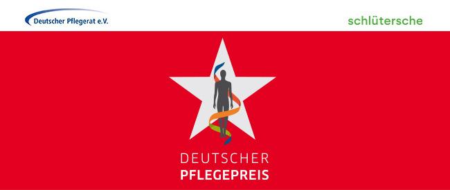 Logo des Deutschen Pflegepreises 2019