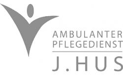 pflegedienst logo j.hus
