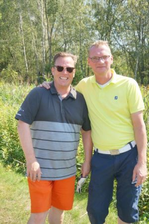 Bodo Svenson beim Charity-Golfturnier