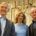 Prof. Conraths, Dr. Probst und Prof. Mettenleiter vom FLI